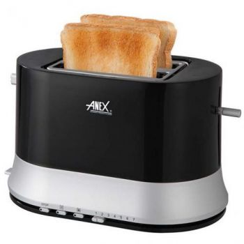 Anex Slice Toaster - Black AG-3017